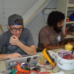 Delgado team working on their payload